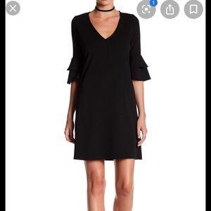 The Vanity Room ruffle sleeve dress
